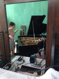 Emily and the prepared piano