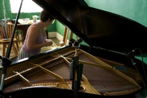 More prepared piano